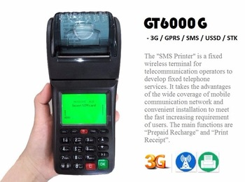 58mm Goodcom 3G Wireless Printer , POS Thermal Printer for Website orders web page