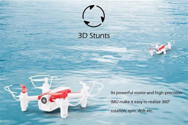 2017 New WIFI FPV RC MIni Drone 2.4GHZ 4CH With Wifi Real Time CRICKET Mini RC Selfie Cheerson cx17 Drone With HD WIFI Camera