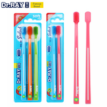 Dr.Ray Toothbrush ECO toothbrush 0.01mm Super Soft Toothbrush Bristle Small Head Environmental Protection Travel Toothbrush цена и фото