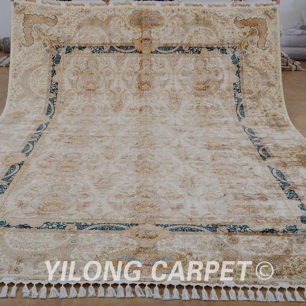 персидский шелковый ковер