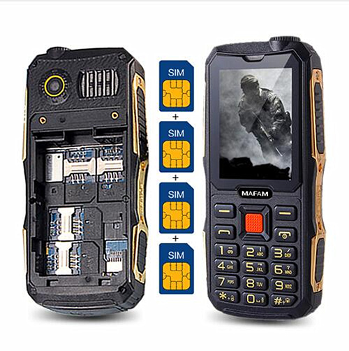 MAFAM M1 4 SIM cards 4 standby mobile phone Quad SIM four SIM cards cell mobile