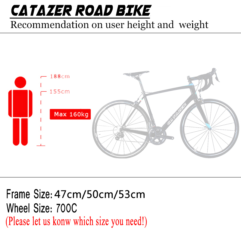 HTB1aVyJao rK1Rjy0Fcq6zEvVXap - CATAZER 700C Highway Bicycle Tremendous Mild Full T700 Carbon Body Racing Highway Bike Carbon Wheelset 22 Pace Skilled Highway Bike