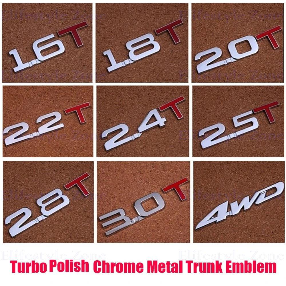 XCBW Emblema della Decalcomania del Distintivo del Metallo 3D 2Pcs per Decalcomanie dellautoadesivo del Tronco Posteriore del parafango Laterale dellautomobile Adatte per J-EEP Wrangler,Argento