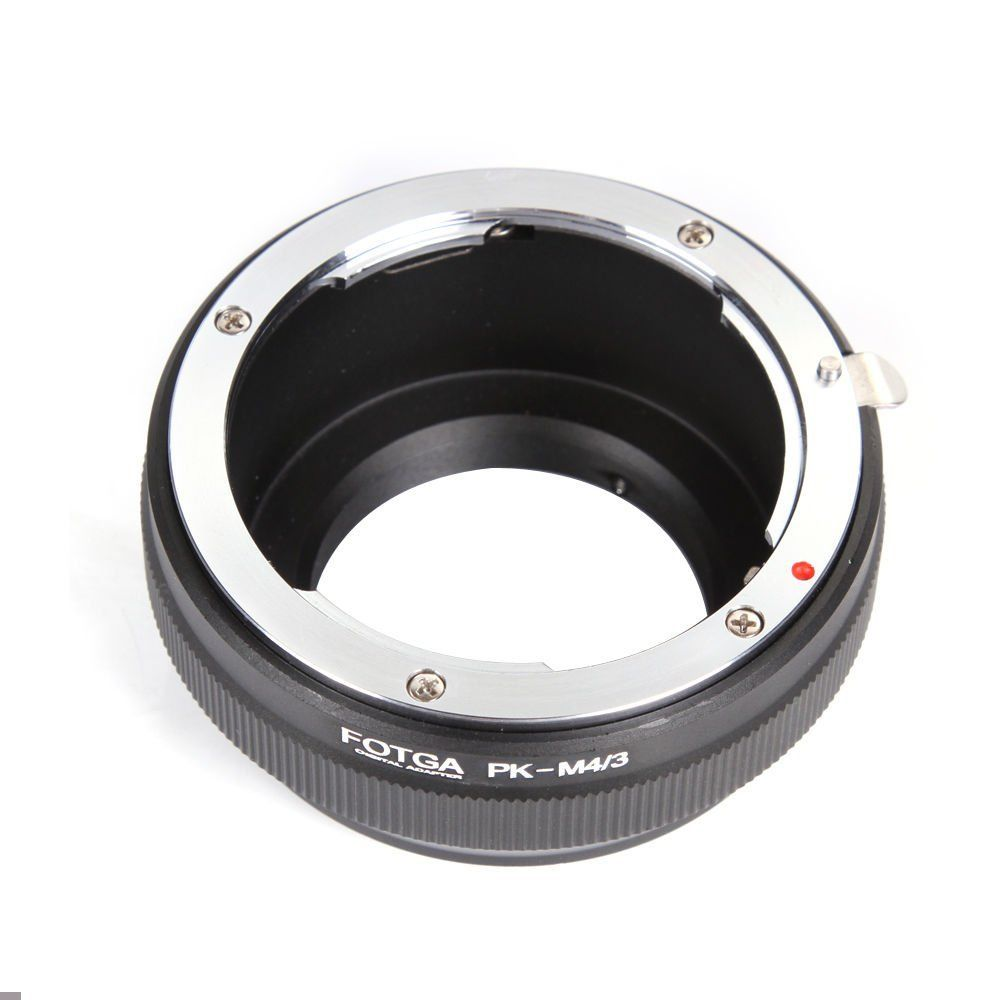 Fotga PK lente anillo adaptador para Pentax para micro 4/3 M4/3 Panasonic Olympus GH5 GF9 GH4 E-PL9 E3 e-P1 G1 GF1
