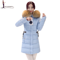 Winter Outerwear Women parkas 2018 New Large size Down Jacket Coats Korean Loose Mid Long Thicken Warm Winter Women jacket NO602