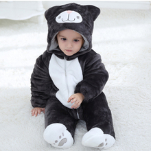 JYBIENBB Baby Cat Kigurumi Newborn Infant Romper Animal