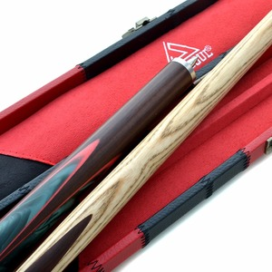 """Image 4 - CUESOUL 57"""" Hand Spliced 3/4 Jointed Snooker Cue with 2   Extensions Packed in Leatherette Cue Case"""