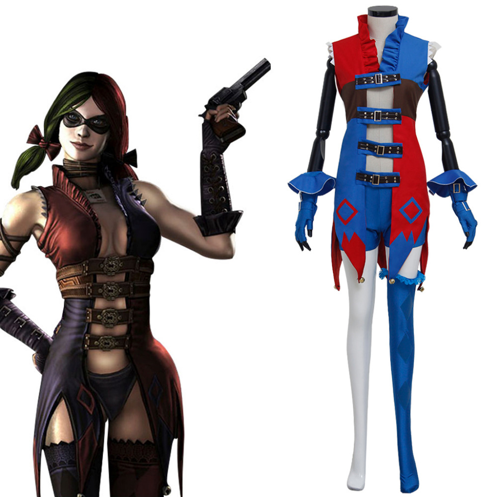 Injustice: Gods Among Us Harley Quinn Cosplay Costume ...