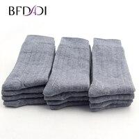 Big Size 42 48 Bamboo Fiber Men Sock High Quality Business Sock Casual Socks 12 Pairs