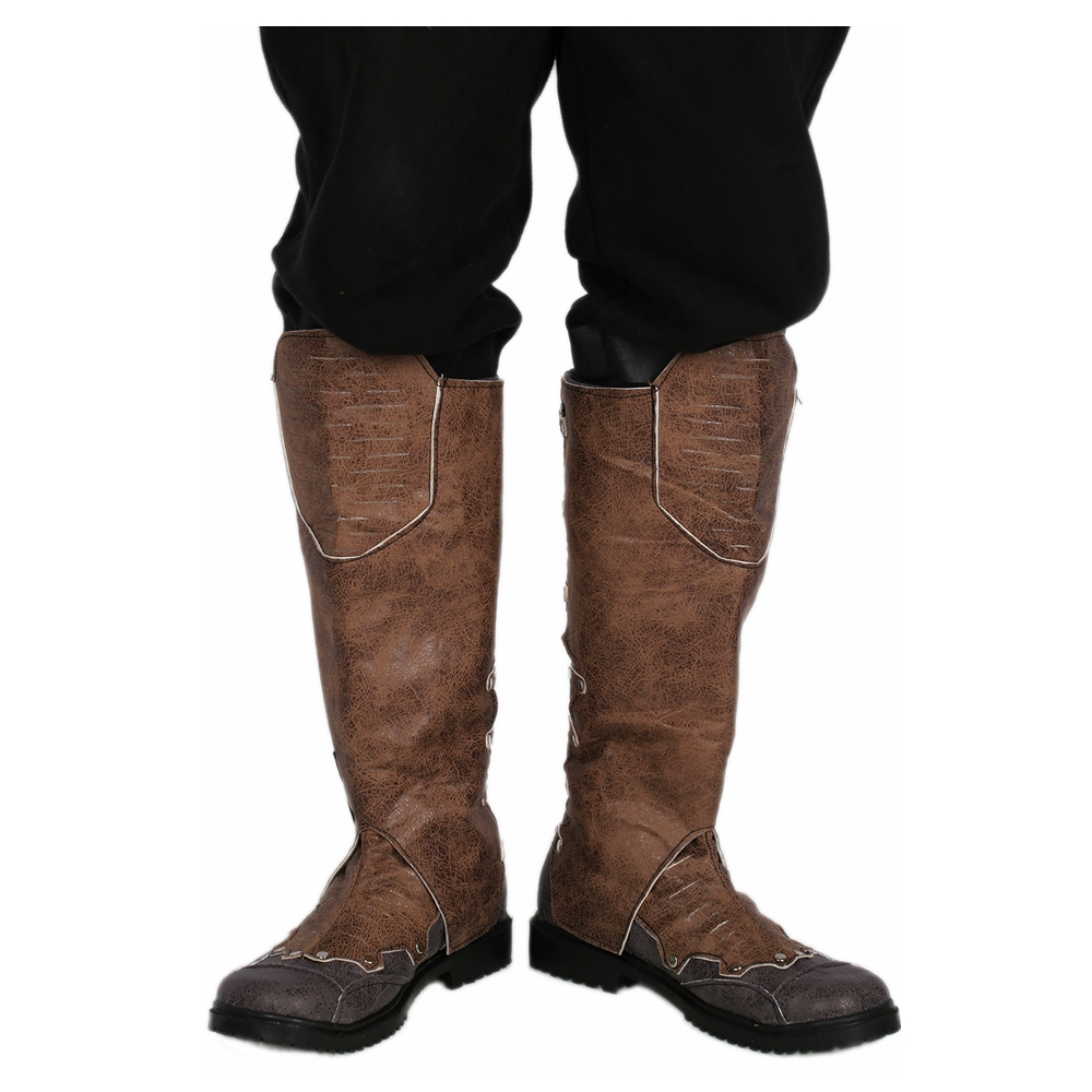 Coslive Star Lord Knee Boots Guardians of the Galaxy Vol. 2 COSplay Mens PU Shoes Costume Accessories lord marksman and vanadis vol 2