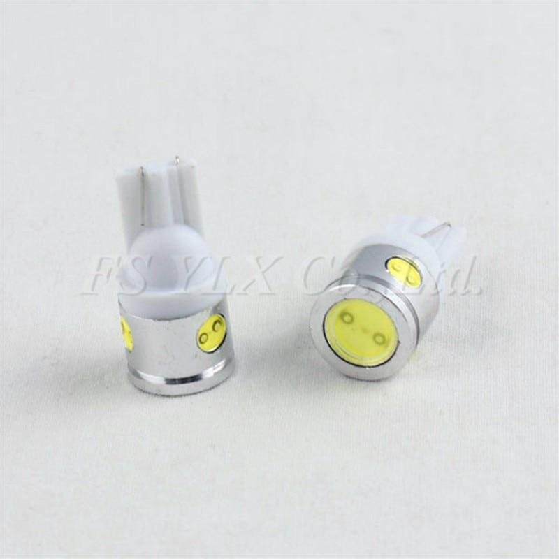 FSYLX 20 штук T10 COB светодиодный w5w T15 158 168 192 193 194 2825 921 W5WB W5W указатель поворота угол парковки Боковой габаритный фонарь, задние фонари