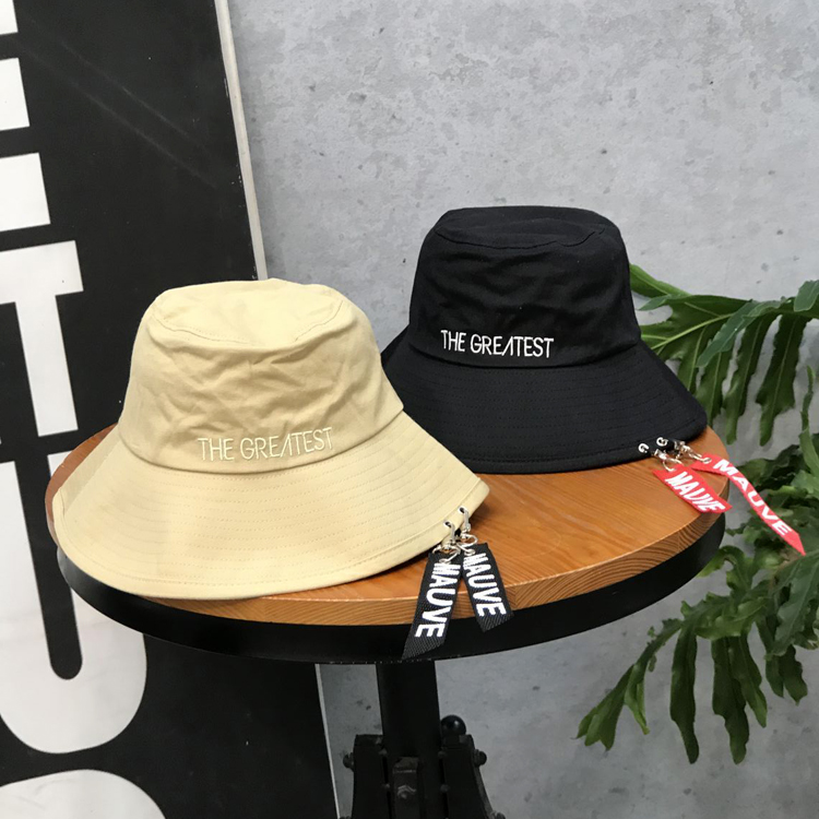 53f2b02051a Tanworders Fashion Unisex Bucket Hats For Women Men Casual Letter Embroidery  Cotton Panama Hat Sombreros De Verano Para Hombre-in Bucket Hats from  Apparel ...