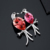 Neoglory auden rhinestone projeto animal broches de moda para mulheres de cristal austríaco jóias 2017 br1