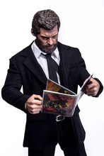 цены 1/6 scale X-man wolverine logan business suit clothes set with claws for 12 inches action figures dolls bodies