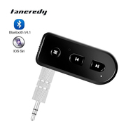 Wireless Car Bluetooth Aux Audio Receiver Adapter Support IOS SIRI Handsfree Kit For iphone 4s 5 5s 6 6s Ipad Music Receiver