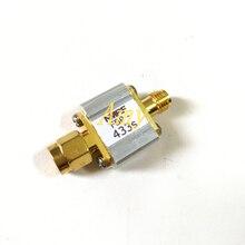 433 МГц телекоммуникационный полосный фильтр, 433 м, полоса пропускания 8 МГц