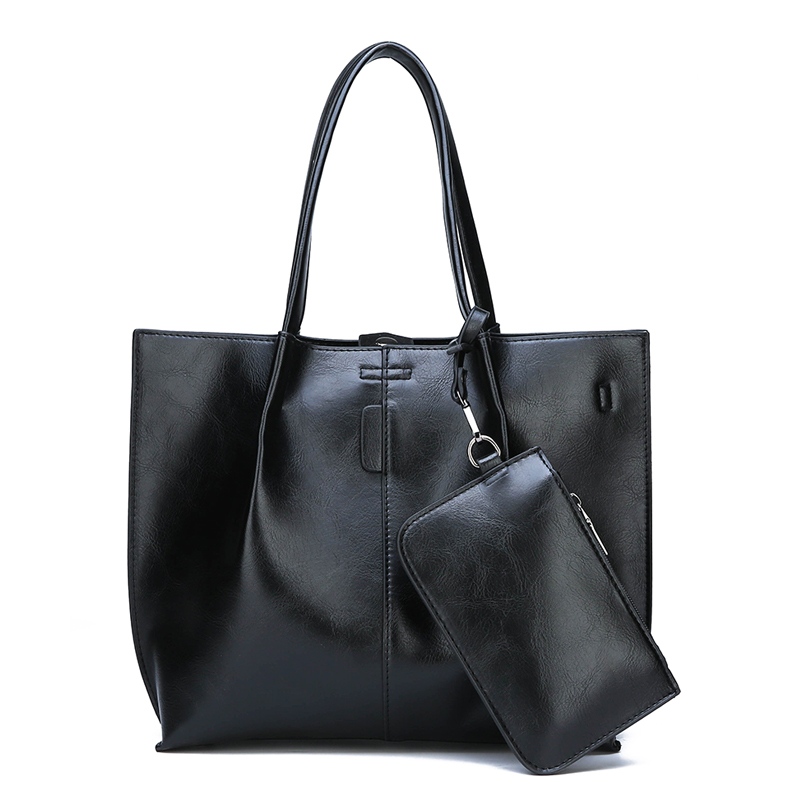 Crossbody Bag Set for Women PU Leather Handbags Big High Quality Casual Female Tote Vintage Shoulder Bags Ladies Large Purse