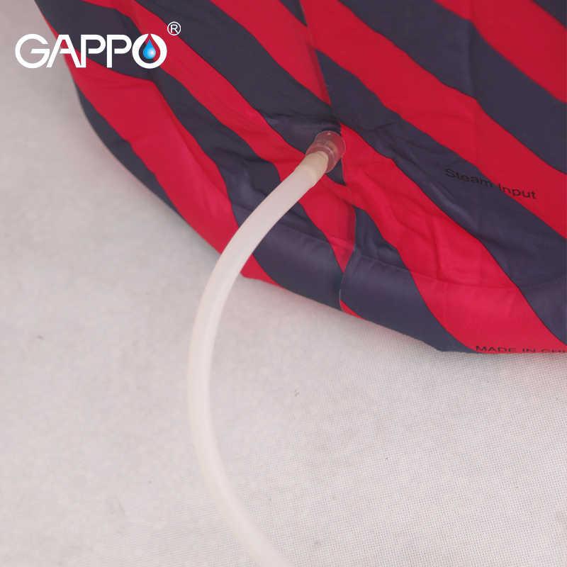 GAPPO Sauna parowa przenośny nadmuchiwany kryty pary korzystne dla skóry sauna garnitury do utraty wagi w domu sauny wanna SPA