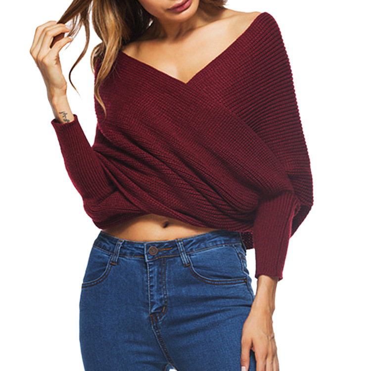 2018 Autumn Winter New Fashion Ladies Sweater Womens Front
