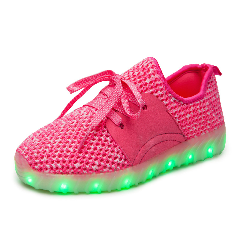 Led Sneakers YZY v2 Kids 17