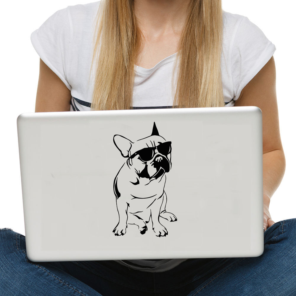 Handsome French Bulldog Wall Sticker Car Styling Sticker Computer Wall Decals Home Decor Decoration For Children Kids