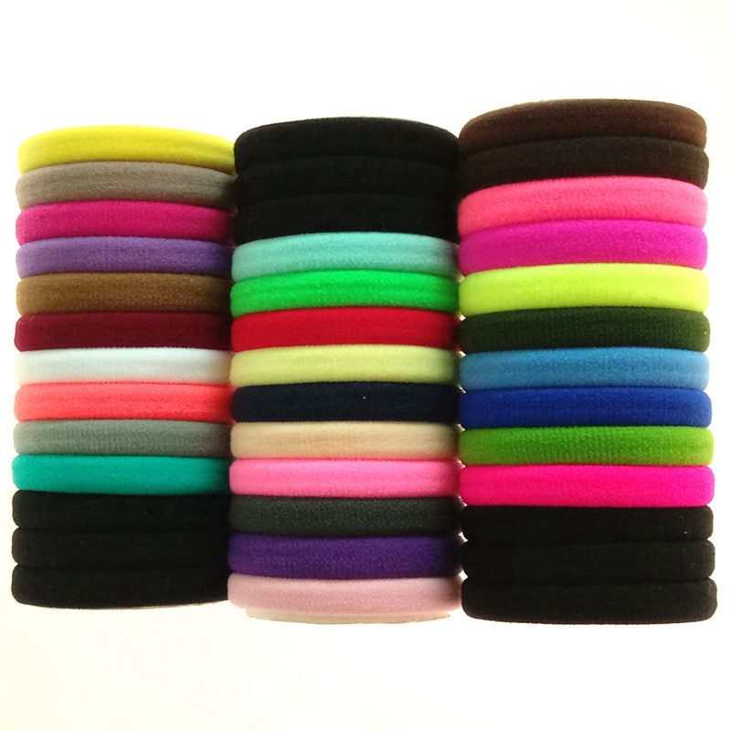 30pcs/set, Hot Sale Womens Headwear,Cotton Material, Elastic Hair Rope,High Quality Hair Bands ,Hair Accessories Wholesale H001