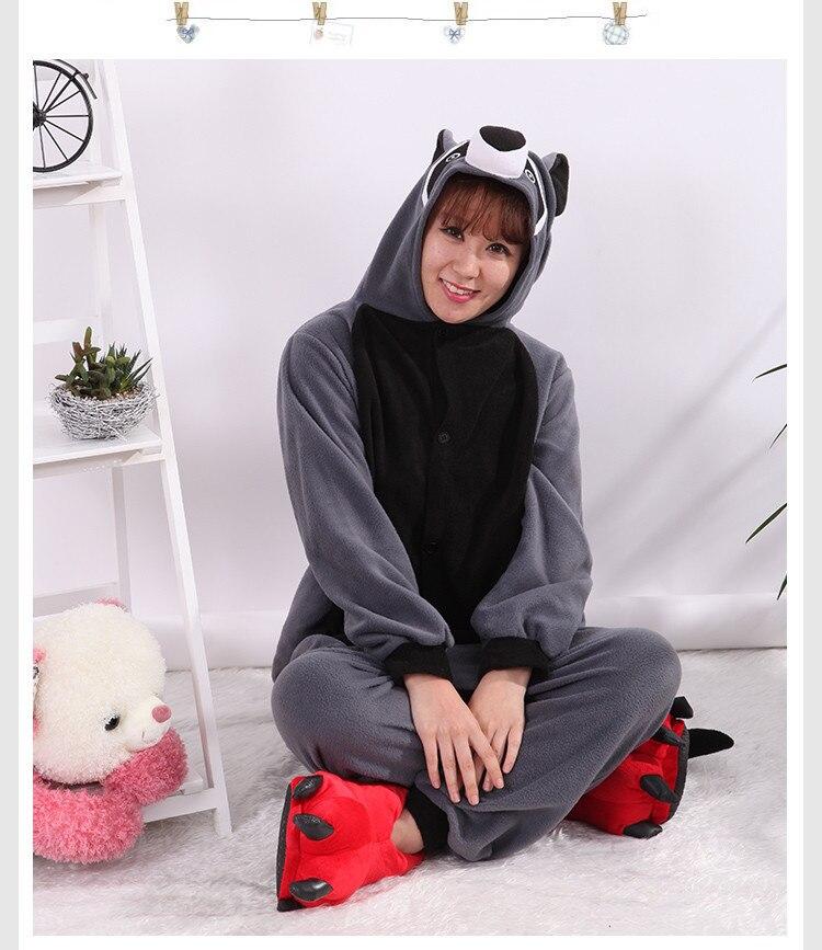 ecc7db2a47 ... Pajamas Adults Cosplay Cartoon Cute Animal Onesies Sleepwear Flannel.  varieties owl