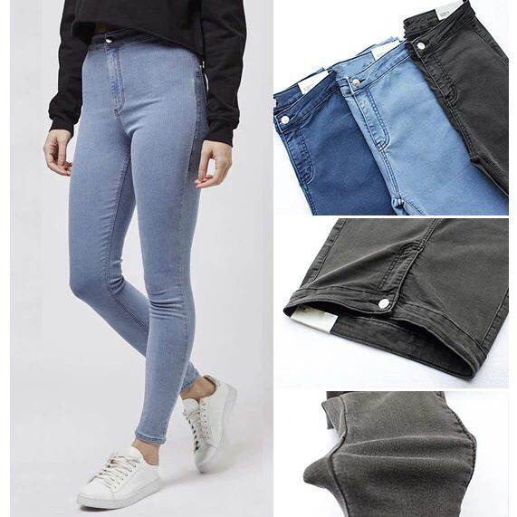 skinny jeans high waist women quality large elastic stretch denim jeans oversized large size sexy skinny pencil pants women jeans large size high waist autumn 2017 blue elastic long skinny slim jeans trousers large size denim pants stretch female