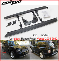 running board/side step bar for Range Rover (Vogue) 2006 2012, stable quality,OE model,great discount,sale promoted activity,