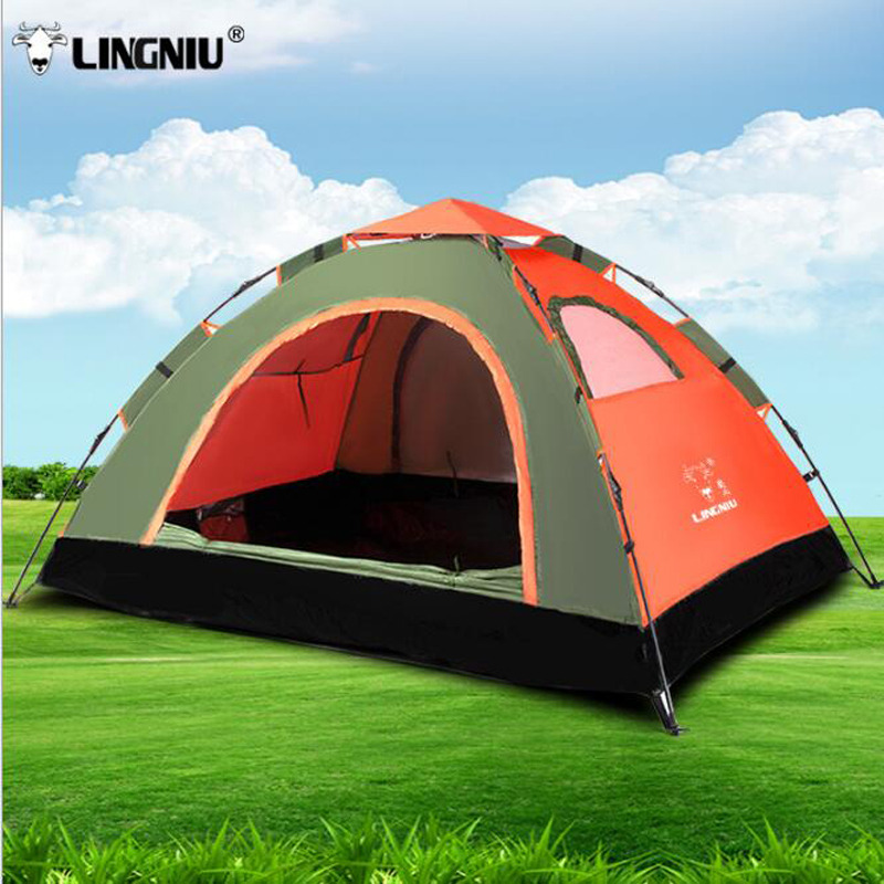 Three-Season Tent 1 - 2 Person Camping Tent With Carrying Bag For Camping Hiking Traveling Quick Automatic Opening DHL shipping пена монтажная mastertex all season 750 pro всесезонная