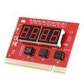 Computador Análise PÓS PCI Teste De Diagnóstico do Cartão Display LCD Motherboard LEVOU de 4 Dígitos PC Analyzer