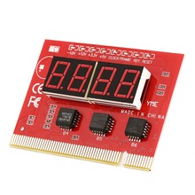 Computer Analysis PCI POST Card LCD Display Motherboard LED 4 Digit  Diagnostic Test PC Analyzer