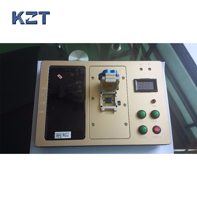 Customized IC test socket MTK6752 Adapter IC Test Socket Analysis Socket jig double lock clamshell Structure Test socket