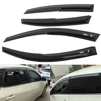 4Pcs Window Visor Shade Vent Rain Deflector Cover For NISSAN ALTIMA 2013 2015