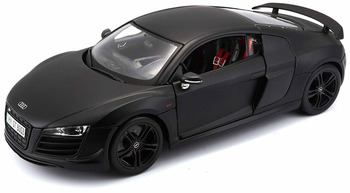 Maisto 1:18 Audi R8 GT Black Diecast Model Racing Car Vehicle Toy NEW IN BOX image