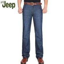 Акции 2016 летние новые АФН JEEP/Battlefield Jeep мужская мода классические случайные джинсы прямые джинсы большой ярдов длинные 95