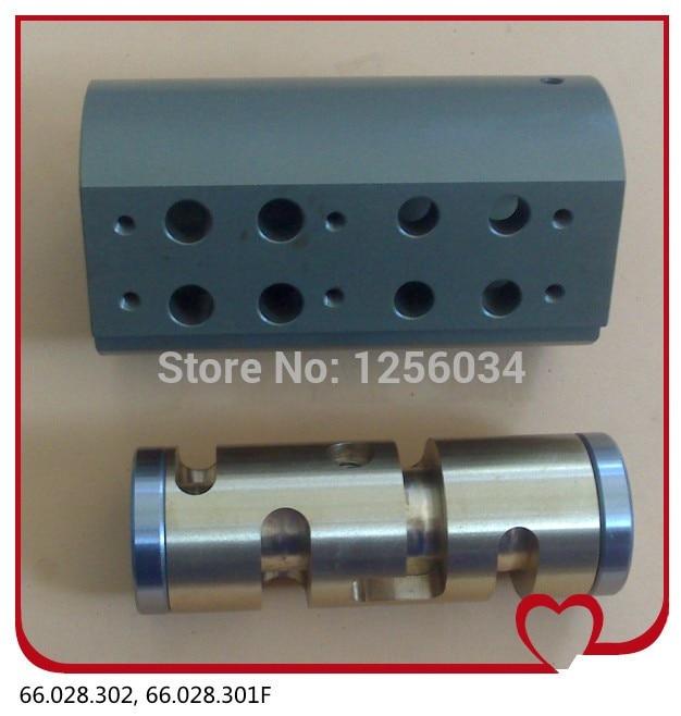 1 set Hengoucn SM102 CD102 MO machine parts, feeder valve for Hengoucn 66.028.301F, MV.026.8471 set Hengoucn SM102 CD102 MO machine parts, feeder valve for Hengoucn 66.028.301F, MV.026.847