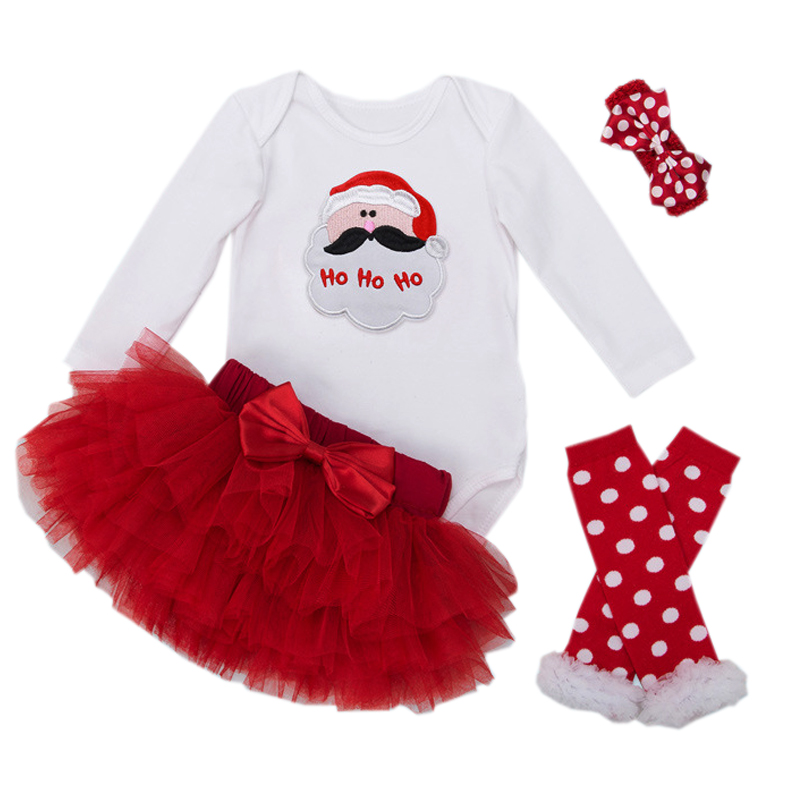 Christmas Baby Clothes Santa Claus Costume for Baby Girl Newborn Rompers New Year Red Roupa Infantil Sets Bebes Festival Cosplay sr039 newborn baby clothes bebe baby girls and boys clothes christmas red and white party dress hat santa claus hat sliders