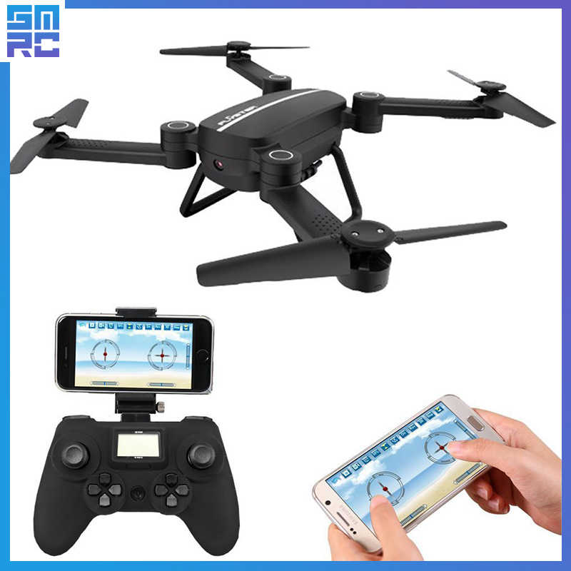 SMRC Mini Quadrocopter Pocket Drones with Camera HD small WiFi mine RC Plane Quadcopter race helicopter fpv racing Dron Toys 4K