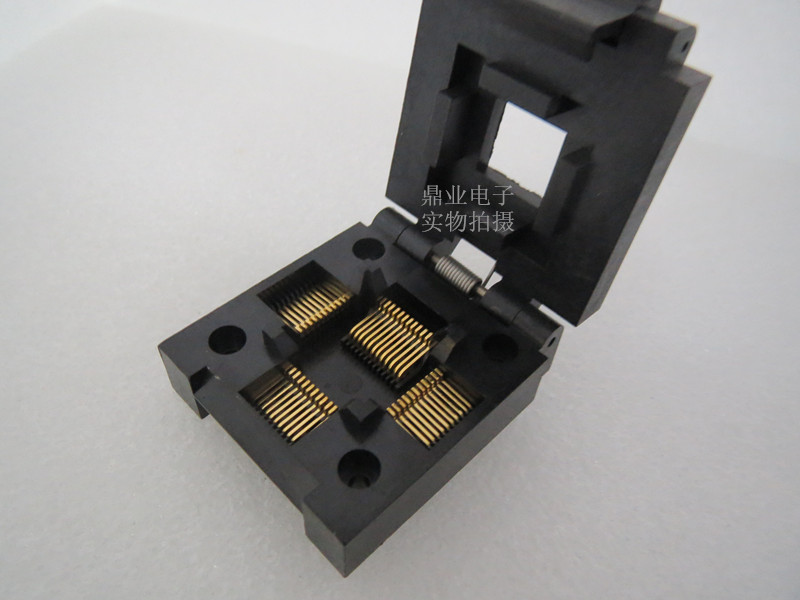 IC51-0484-630 QFP48 IC Burning seat Adapter testing seat Test Socket test bench in stock free shipping