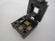 Z klapką IC51-0484-630 QFP48 IC zasilacz testujący napięcie test gniazda gniazdo testowe stanowisko testowe w magazynie darmowa wysyłka tanie tanio Tester kabli JINYUSHI