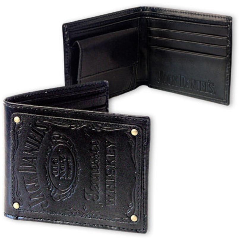 Jack Daniel's Black Whiskey Billfold Wallet (2)