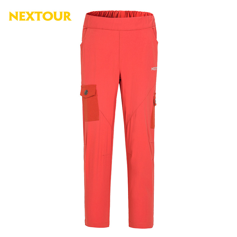 NEXTOUR Outdoor pants Kids  Elastic Quick-dry Pants UV-proof Breathable Trousers Hiking Camping with most of pockets палатка trek planet boston air 4 оливковый т оливковый