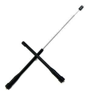 Image 1 - Antenne 144/430 à double segment UV de SMA F avec antenne biellette à gain élevé pour baofeng PUXING PX777 PX888K