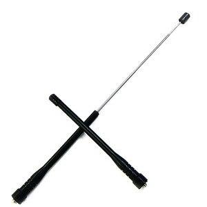 Image 1 - SMA F UV dual segment 144/430 anteny z wysokim zysku drążka kierowniczego do anteny dla baofeng PUXING PX777 PX888K