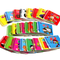 1 Pc Hot Free Shipping Children Education Early Learning Tool Word Card Circle Pocket Books Baby Fun Teaching Cards Parent-child