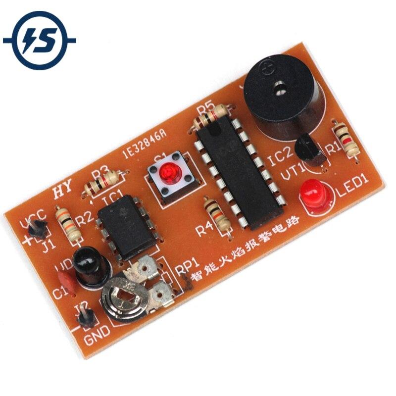 Электронные наборы DIY, комплект инфракрасной сигнализации для склада, 5 в постоянного тока, модуль инфракрасного датчика пламени, модуль датчика обнаружения пламени|electronic diy|diy kitkit electronic | АлиЭкспресс