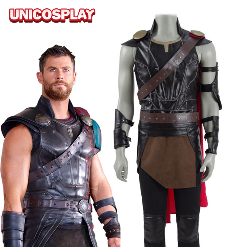 Thor 3rd Ragnarok Thor Odinson Cosplay Costume 2017 God of ...
