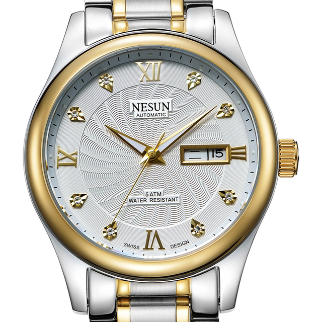 Swiss Made NESUN Luxury Watch Automatic Self-winding
