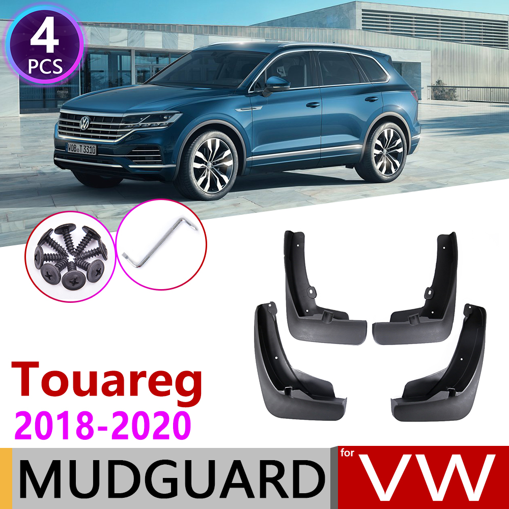 Front Rear Car Mudflap For Volkswagen VW Touareg MK3 CR 2018 2019 2020 Fender Mud Guard Flaps Splash Flap Mudguards Accessories